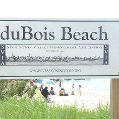 duBois Beach, Stonington Borough, Connecticut