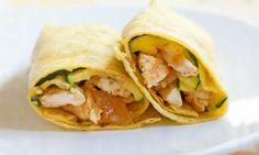 Chicken and Mango Chutney Wraps I SpryLiving.com
