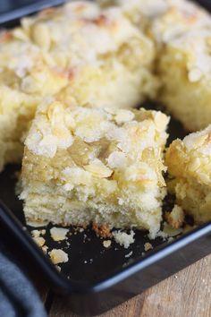 Butterkuchen mit Pudding - Butter Custard Cake Rezept (24)