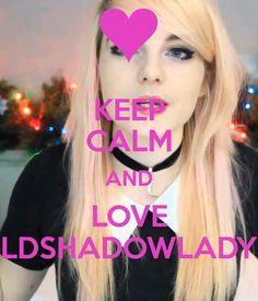 KEEP CALM AND LOVE LDSHADOWLADY Poster   suprunal   Keep Calm-o-Matic