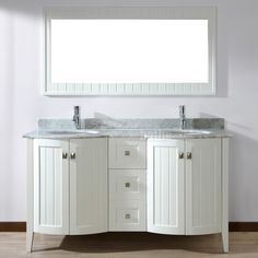 Bathroom Vanity Double Sink 60 Inches - Everybody wants to have a bathroom that is both functional and stylish at precisely the identical moment. One way that you can have both is by incorporating bathroom vanities inside. There are a great deal of designs that you could choose from when...