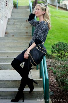 Passion for Fashion: Thigh high boots fever ♥ Passion for Fashion