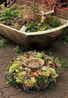 ..der Herbst in Hülle und Fülle.....zauberhafter Duft.....  ein Traum für alle Naturliebhaber   ein großer,liebevoll in Handarbeit hergestellter...