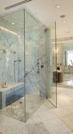 @HansgroheUSA Stand Alone Shower #BathroomDreams