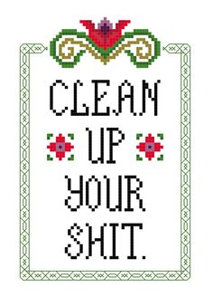 Cross Stitch Pattern Let's hear it for alcohol by aliciawatkins