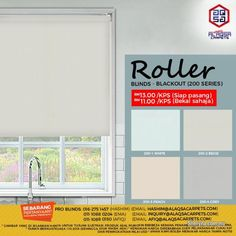 Other for sale, RM11 in Klang, Selangor, Malaysia. Buy Roller Blinds - Decor your window today at Cheap Price    Just Starting from RM11/Sqft Only  Be