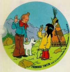 aww! love Tintin's red neckerchief