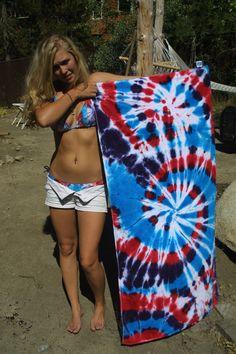 TieDye Beach Gear.. $30.00, via Etsy.