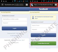 Phony Facebook Login Page Steals Credit Card Information.