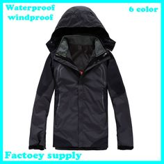 67a975ae56888a New designer Double Layer Windproof Waterproof Skiing warm sports jacket  ski winter ourdoor suit hiking Camping