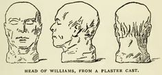 Head of Williams from a Plaster Cast - The Bushrangers - Part Twenty-One - The Last of the Port Arthur Convicts Plaster Cast, Port Arthur, Twenty One, The Twenties, The Past, It Cast, History, Historia