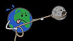 Why Do We Only See One Side of the Moon? #astronomy #science #moon #animation #education