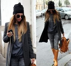 Blanka S. - Rainy attire