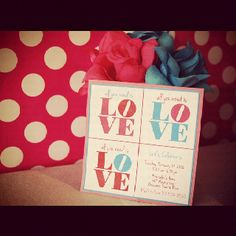 Invitations by little things creations