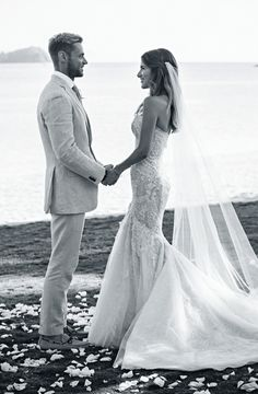 Inside a picture perfect tropical island wedding: Dress:Steven Khalil Veil:a collaboration between Hatmaker by Jonathan Howard and Steven Khalil Rings: Nicholas Haywood Jewellery Concierge