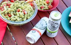How to Throw a Quick Summer Picnic | White Claw Hard Seltzer | Pesto Pasta Salad