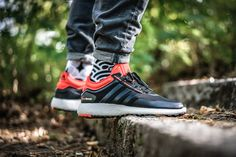 adidas Climaheat Rocket Boost: Black/Red