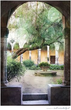 Chiostro di S. Francesco di Sorrento Sorrento, Enchanted, Italy, Italia