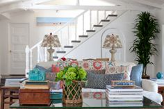 Take A Deeper Look At The Eclectic 20s-style Spanish Home Of Designer Leslie Hunt In This Extended Slide Show
