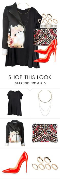 """""""Untitled #3500"""" by hellomissapple ❤ liked on Polyvore featuring Vince Camuto, Givenchy, Boohoo, Christian Louboutin, ASOS, Burberry, women's clothing, women, female and woman"""