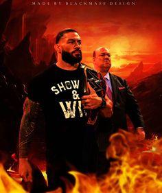 "Blackmass Design (@blackmass_design) added a photo to their Instagram account: ""BlackMassDesign for @romanreigns @paulheyman . . . . . . . . . . . . . . . . . . . . #paulheyman…"" Wwe Superstar Roman Reigns, Wwe Roman Reigns, Best Wwe Wrestlers, Wwe Brock, Chris Benoit, Roman Regins, Cody Rhodes, Eddie Guerrero, Kurt Angle"