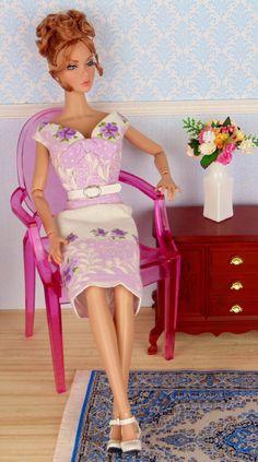 Lavendise for Barbie Poppy Parker & Victoire Roux by HankieChic