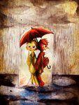 Under A Red Umbrella.