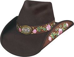 Montecarlo   Bullhide Hats - Heart Breaker Premium Wool Western Cowboy Hat  Chocolate Small Montecarlo   feec89bcddab