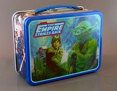 Star Wars THE EMPIRE STRIKES BACK Lunch box - back by LUNZERLAND., via Flickr