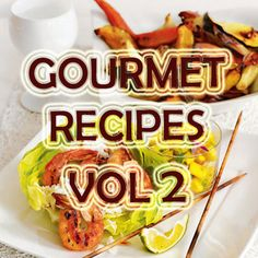 Gourmet Recipes Cookbook Vol 2 -- You can find out more details at the link of the image.