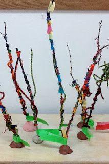 Lorax Trees  - fun Earth Day project