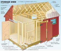 Shed Plans - astuces pour construire son abri de jardin en bois et plan de construction Now You Can Build ANY Shed In A Weekend Even If You've Zero Woodworking Experience!
