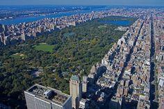vistas desde la cima del edificio de apartamentos más alto de la ciudad de Nueva York