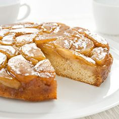 Apple Upside-Down Cake Recipe - America's Test Kitchen