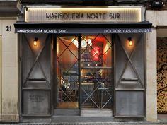Marisquerias Norte Sur restaurant by In Out Studio, Madrid – Spain » Retail Design Blog