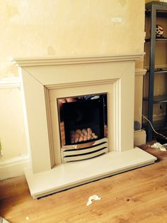Dura stone fireplace with flavel Windsor HE gas fire