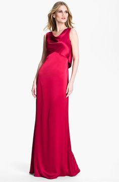 St. John Collection Liquid Satin Gown available at #Nordstrom