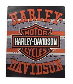Harley-Davidson Shades Raschel Silk Touch Throw Blanket, Black & Orange NW079946 Vinyl For Cars, Harley Davidson Posters, Silk Touch, Auto Vinyl, Poster Boards, Decoration Party, Shades, Blanket, Orange