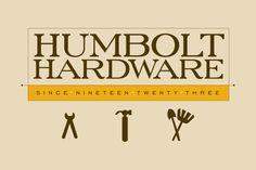 Elegant Hardware Store Logo Template