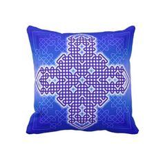 Celtic Cross 10 Throw Pillow by fstasu60