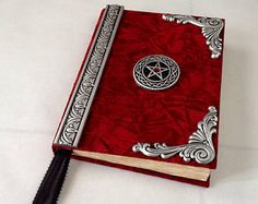 Large Book of Shadows ...blank spell book....wiccan