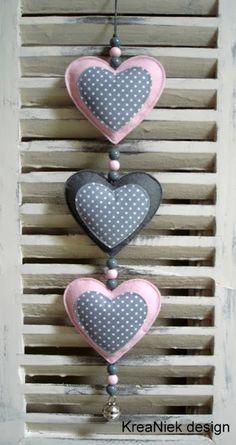 KreaNiek Design: Heart hanger
