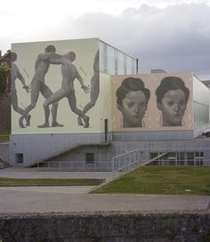 Duality- CULTURAL FORUM, Carballo, Galicia 2015 — Aryz