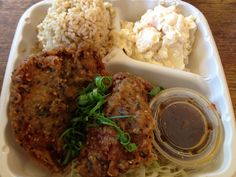 Furikake Catfish Tempra with ponzu sauce@Kakaako kitchen