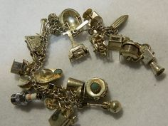Hey, I found this really awesome Etsy listing at https://www.etsy.com/listing/232225375/vintage-silver-charm-bracelet