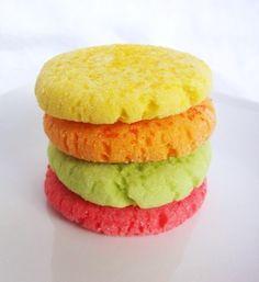 Jell-O Cookies - Lemon, Orange, Lime, and Raspberry