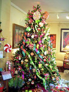 luxury colorful christmas design ideas - Candyland Christmas Theme