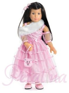 Little girls will love this doll in the new 2014 collection of Kidz 'n' Cats dolls - Princess in Pink
