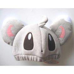 pokemon+hats | Pokemon Center 2011 Minccino Chillarmy Childrens Hat