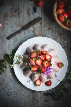 Budino alle fragole e latte condensato- Strawberry and condensed milk pudding - Frames of sugar-Fotogrammi di zucchero